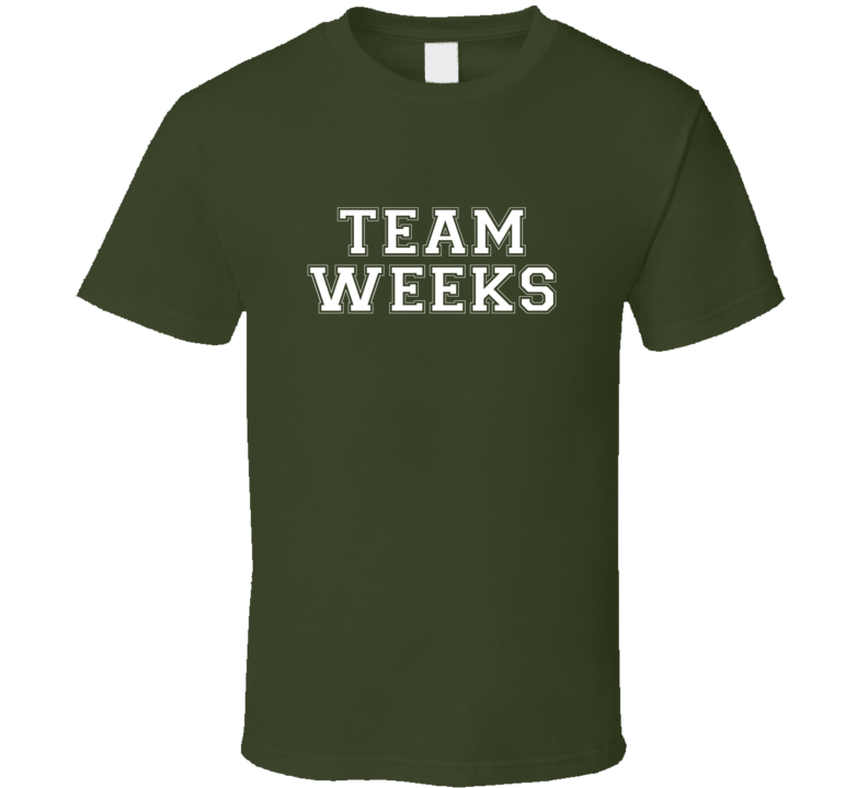 Team Weeks D Tox Horror Film T Shirt
