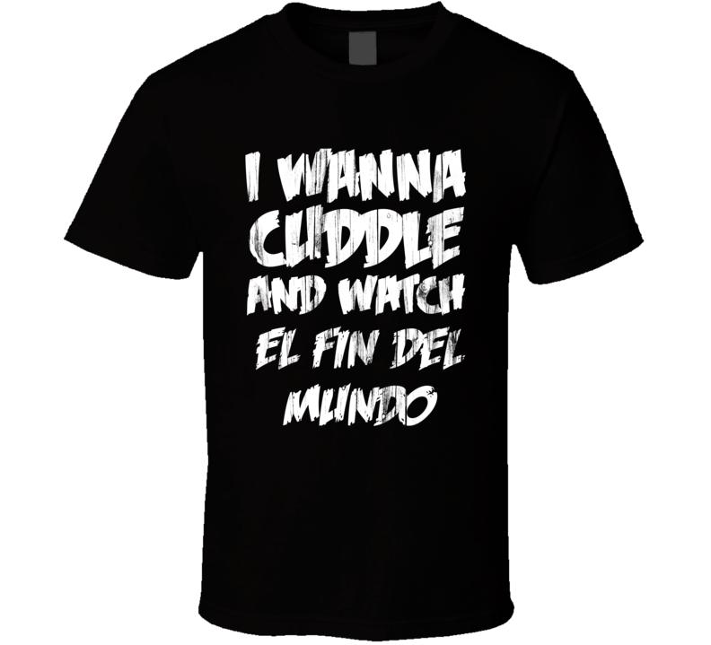 Cuddles El Fin Del Mundo Horror Film T Shirt