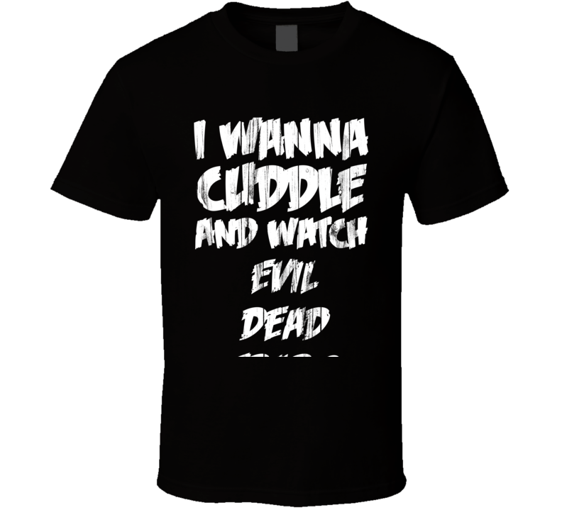 Cuddles Evil Dead Trap 2 Horror Film T Shirt