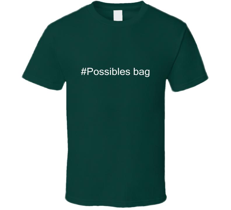 Possibles bag Hashtag Parody Animal Hunter Trending Cool Hunting T Shirt
