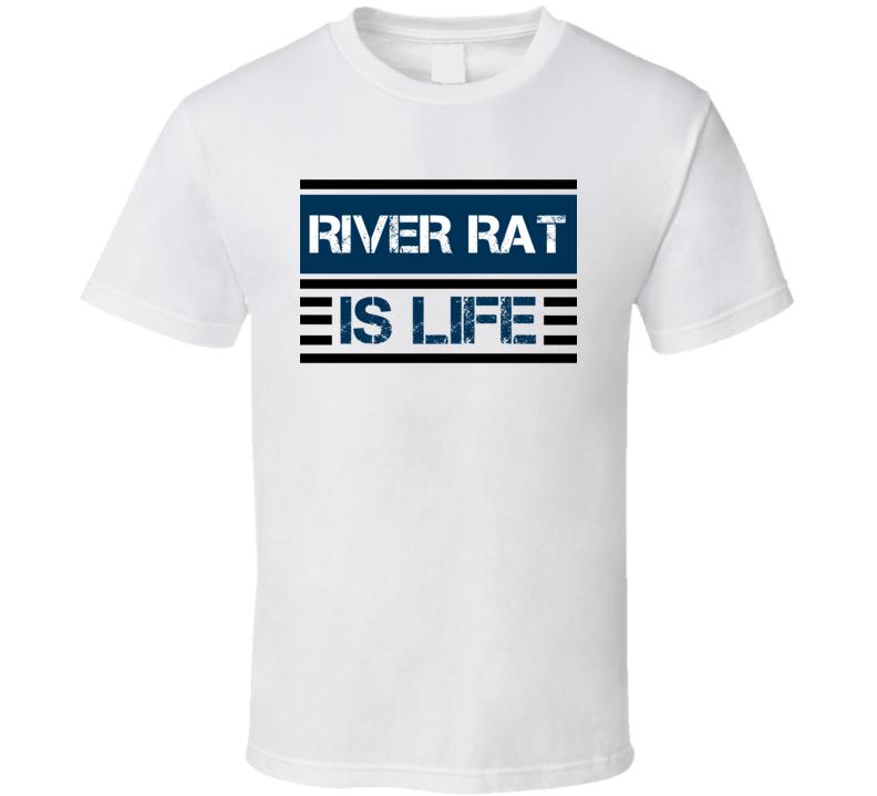 River Rat Is Life Animal Hunter Trending Cool Hunting T Shirt