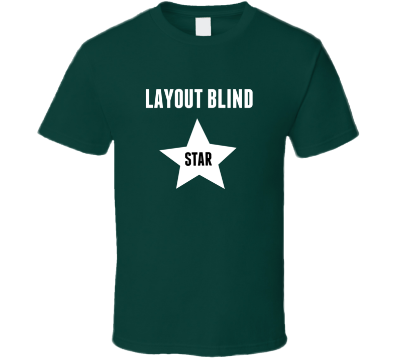 Layout Blind Star Animal Hunter Trending Cool Hunting T Shirt