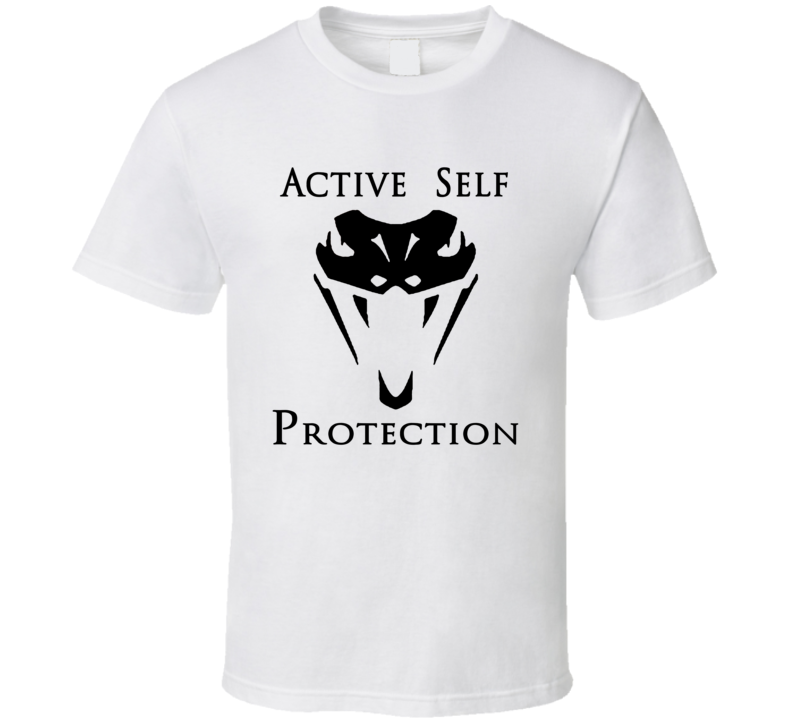 Active Self Protection Trending Popular Youtube Personality Fan T Shirt