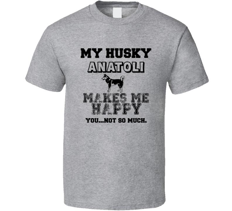 Anatoli Husky I Care About My Dog Funny Best Friend Dog Lover T Shirt