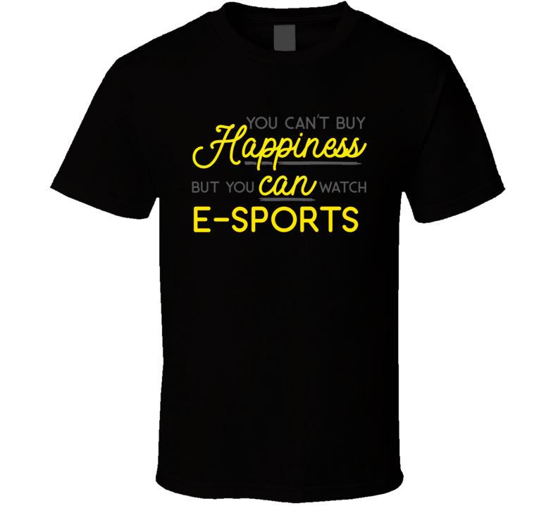 Watch E-sports T Shirt