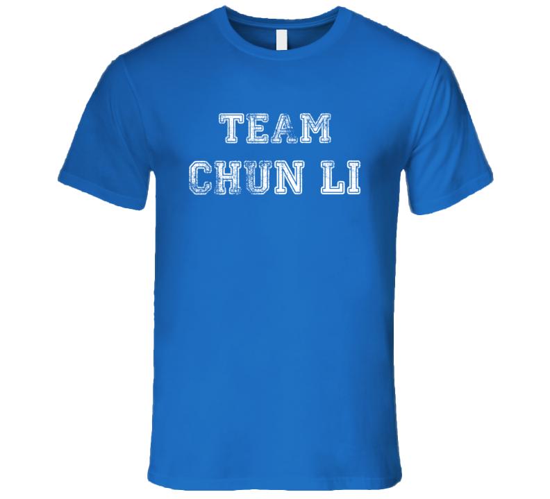 Team Chun Li T Shirt