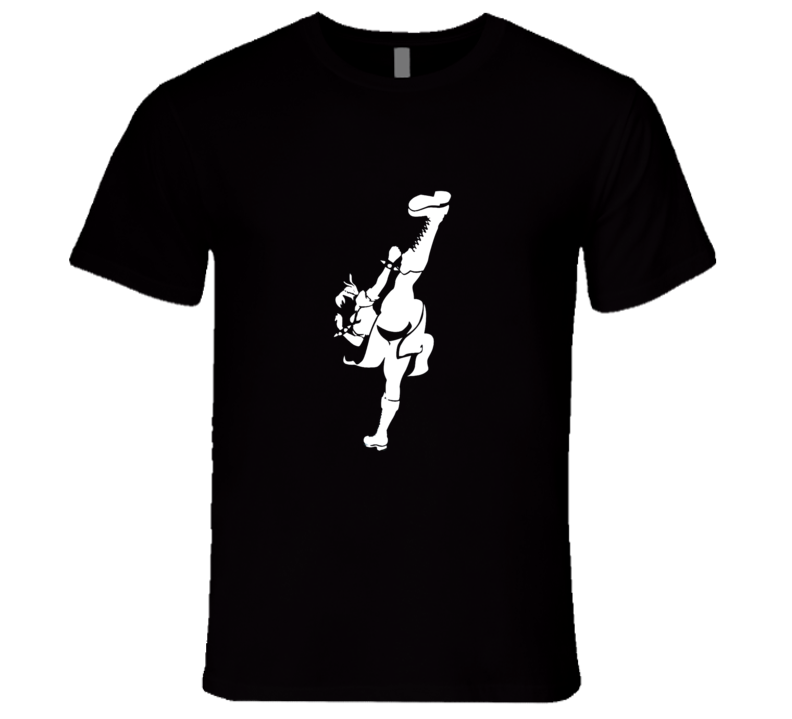 Chun Li Silhouette T Shirt