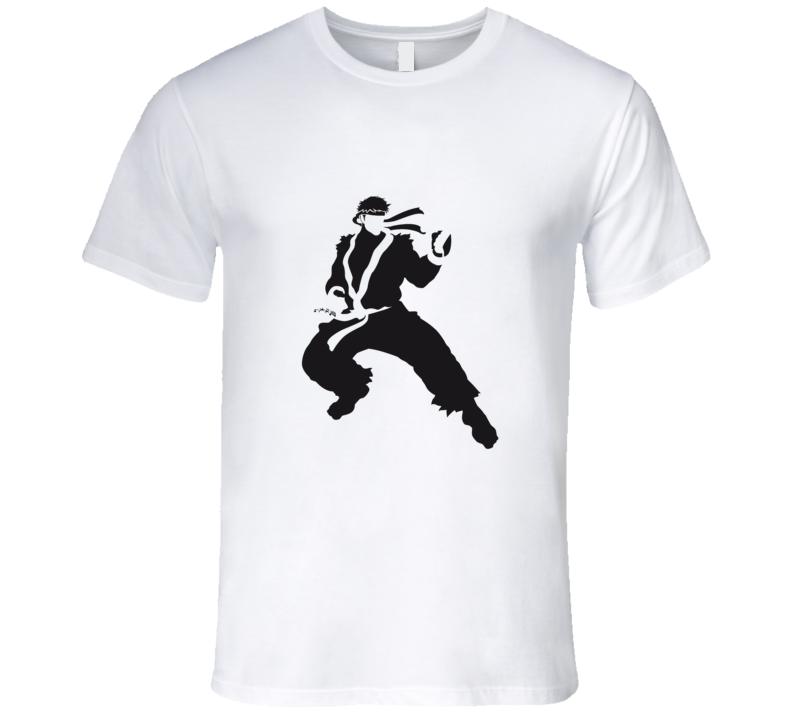 Ryu Silhouette T Shirt