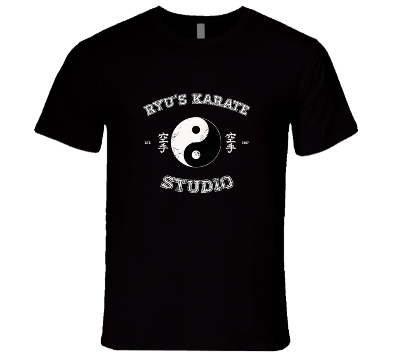 Ryu's Karate Studio T Shirt
