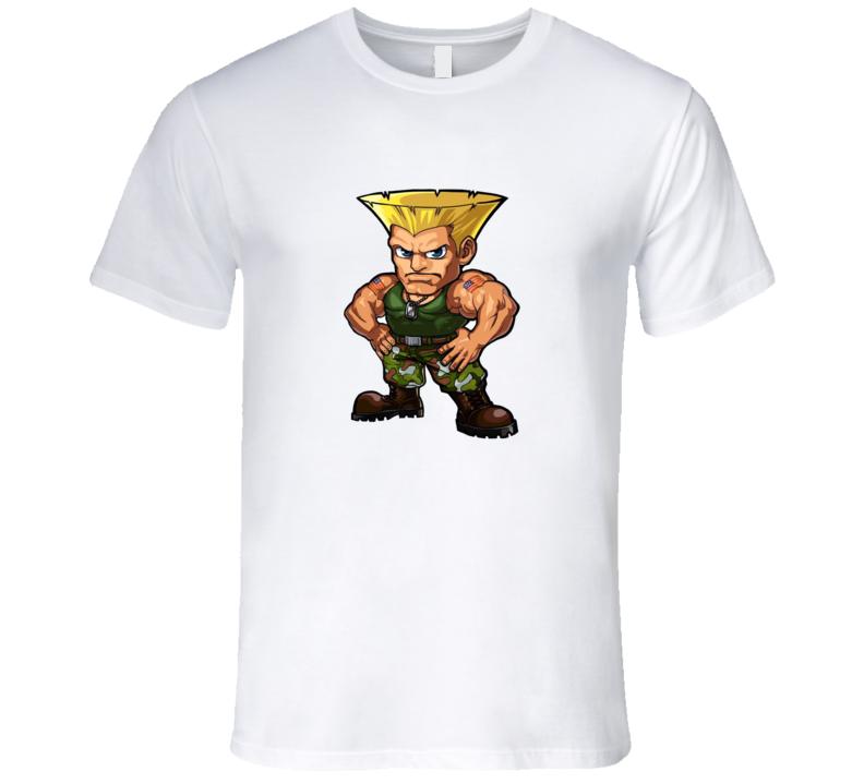 Guile Chibi T Shirt