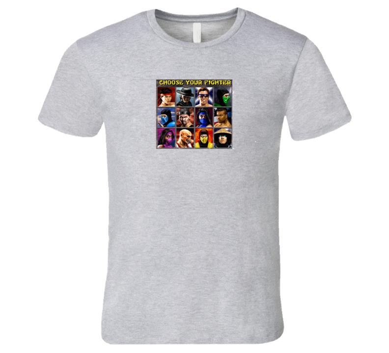 Mortal Kombat Roster T Shirt