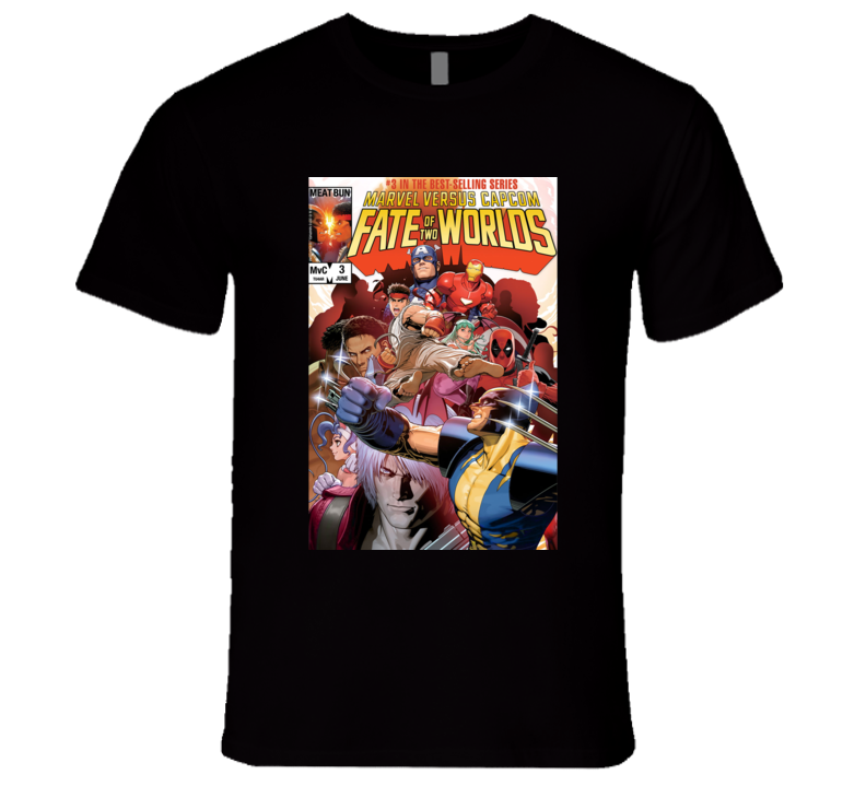Marvel Vs Capcom 3 T Shirt