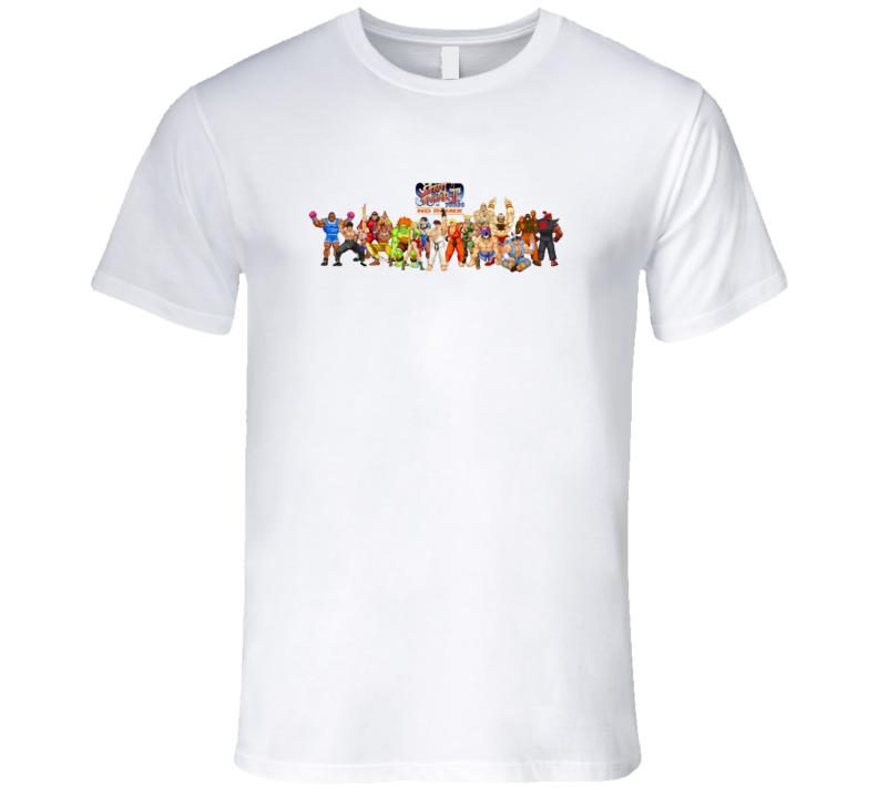Street Fighter Cast T Shirt