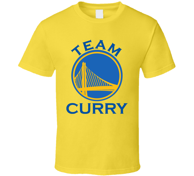 Team Curry Golden State basketball 2015  T Shirt