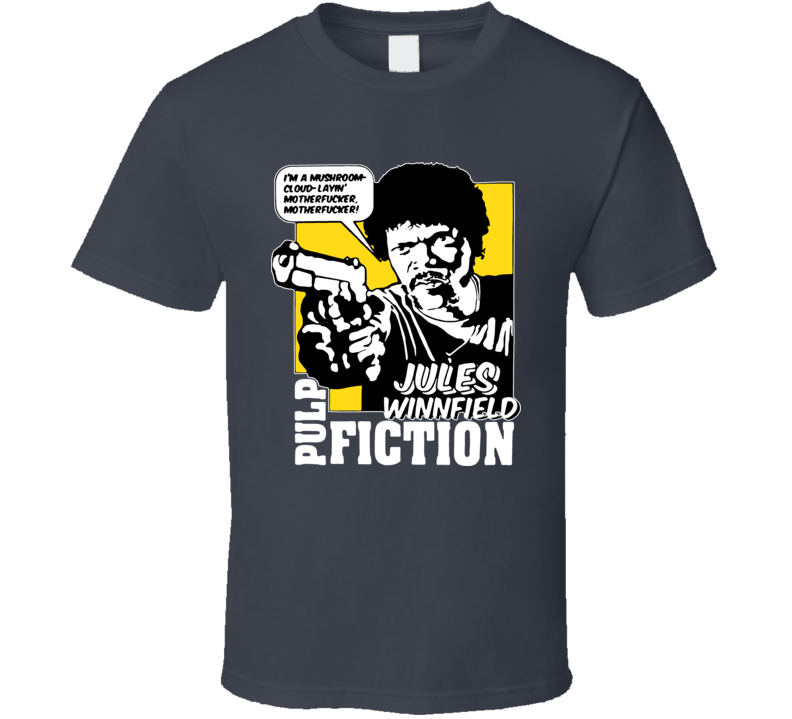 Pulp Fiction Eziekiel Quotes T Shirt