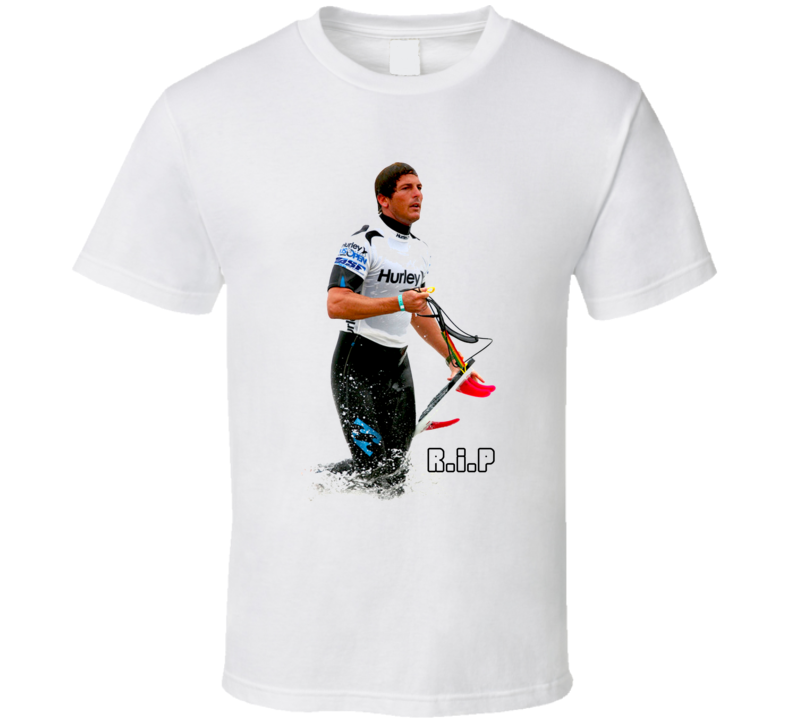 Rip Andy Irons Surfing Legend T Shirt