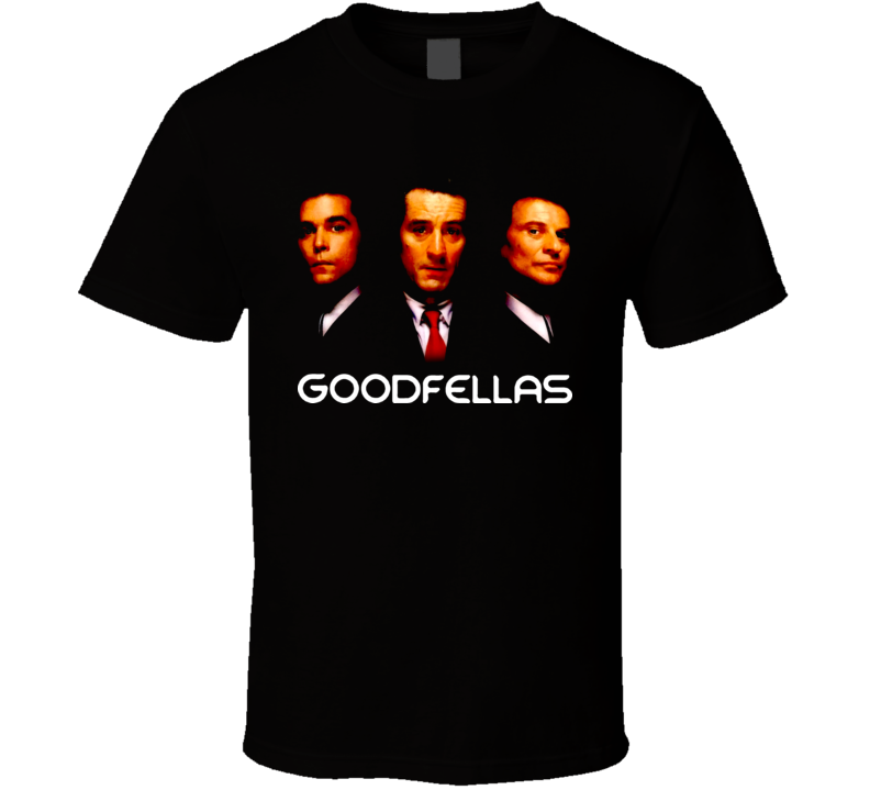 Goodfellas Trio Movie T Shirt