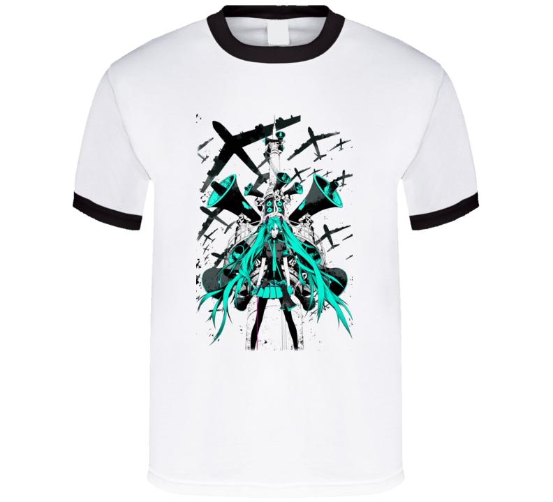 Vocaloid Music Style T Shirt