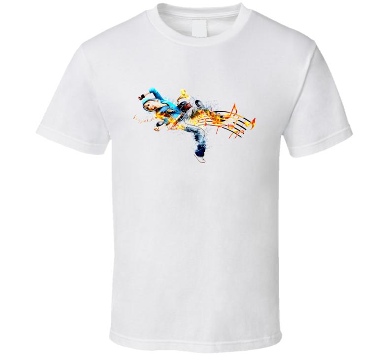 Musical Dancing Notes T Shirt