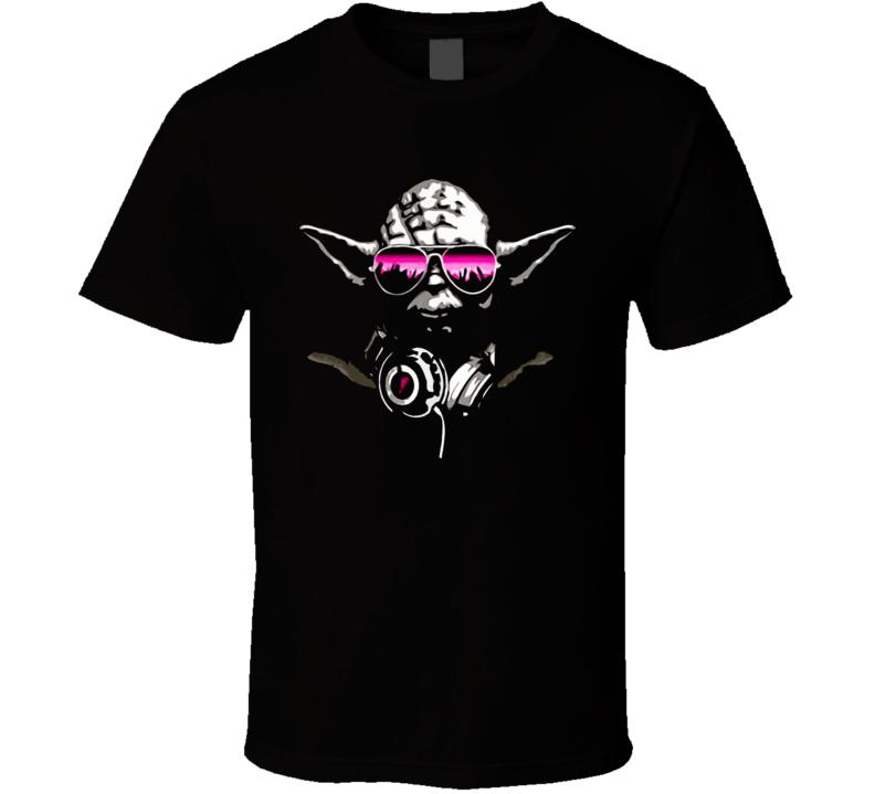 Dj Yoda Star Wars Retro Funny T Shirt