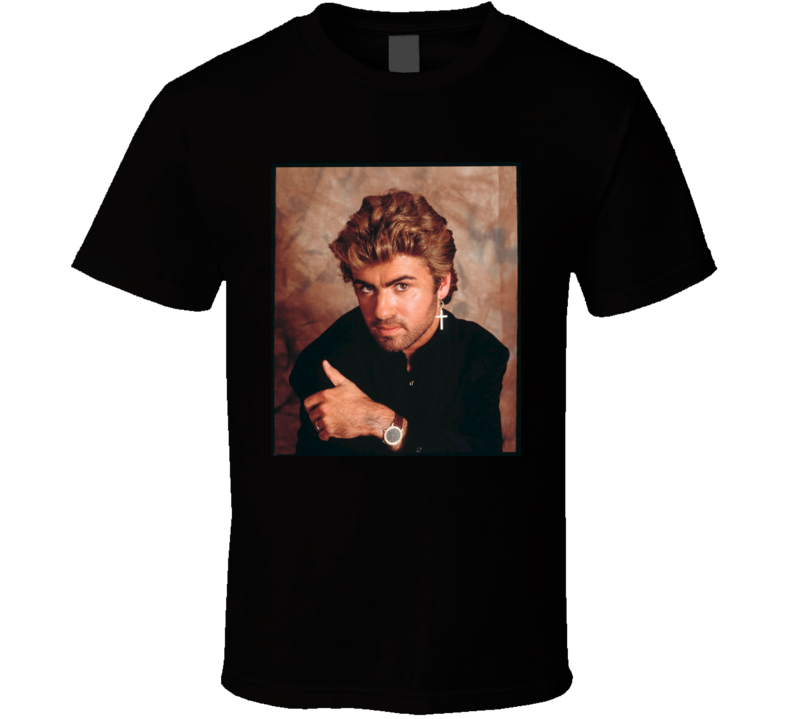 George Michael R.I.P. music shirt