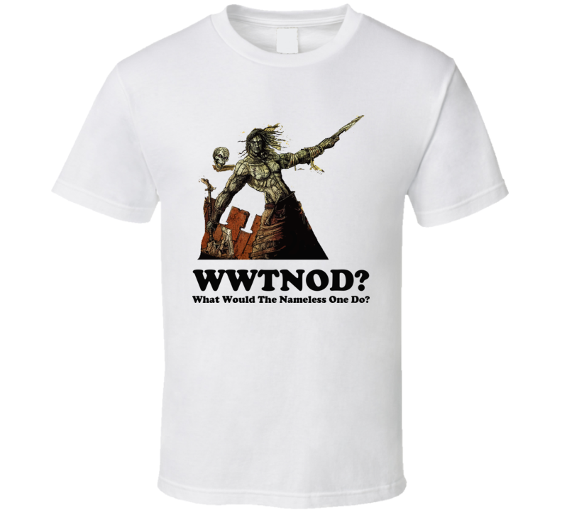 What Would The Nameless One Do Planescape T Shirt