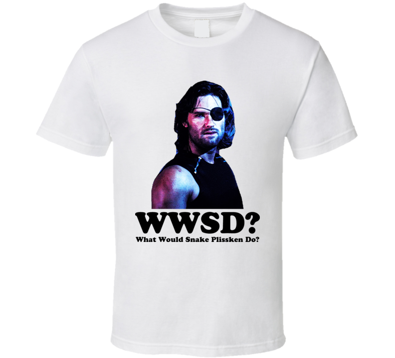 Snake Plissken What Would he Do Escape from New York T Shirt