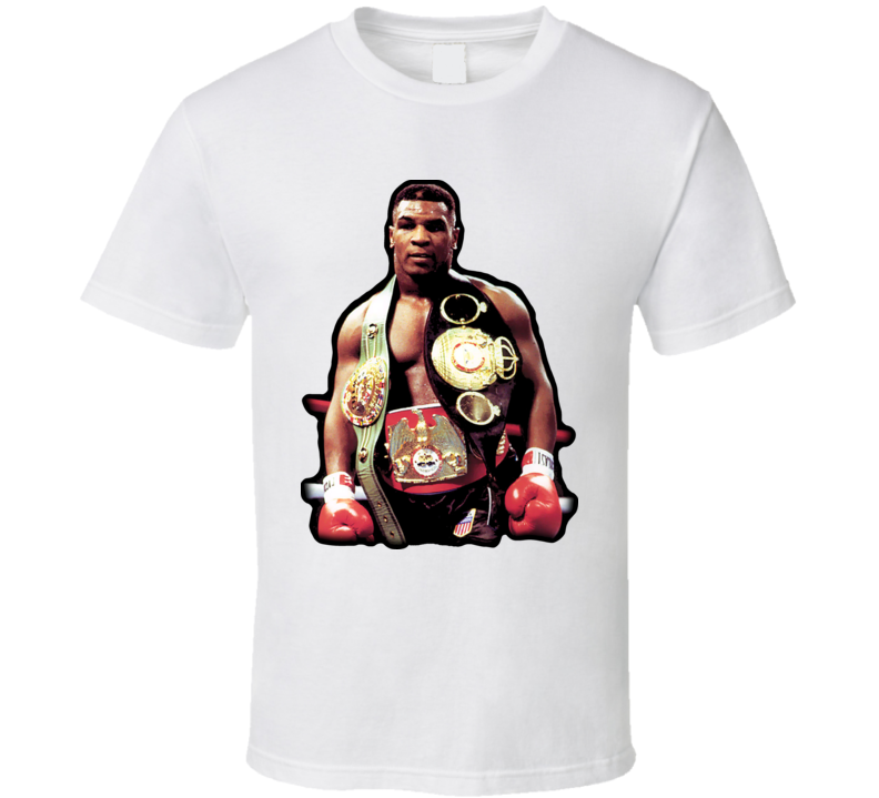 Mike Tyson Boxing T Shirt