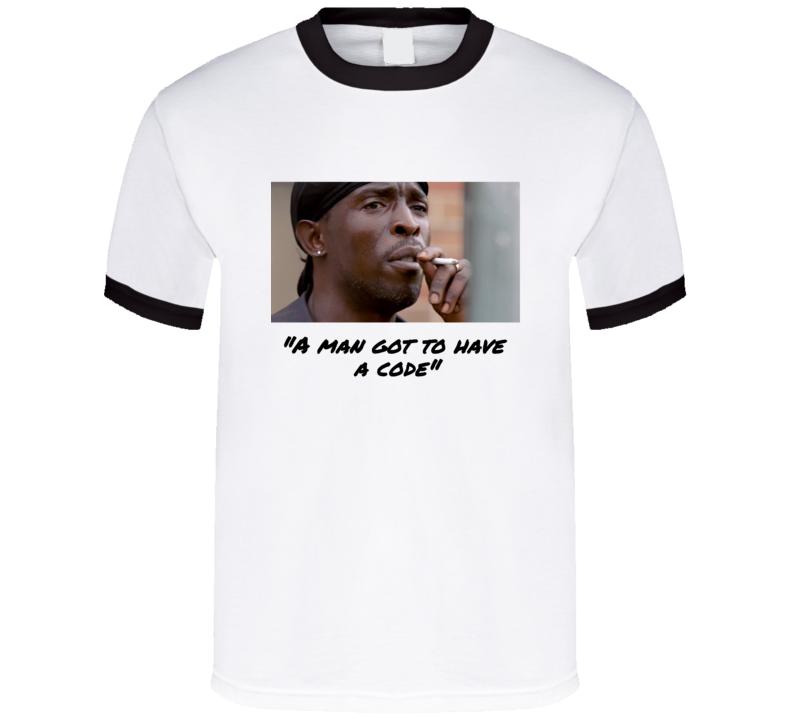 Omar Little Words Of Wisdom  T Shirt