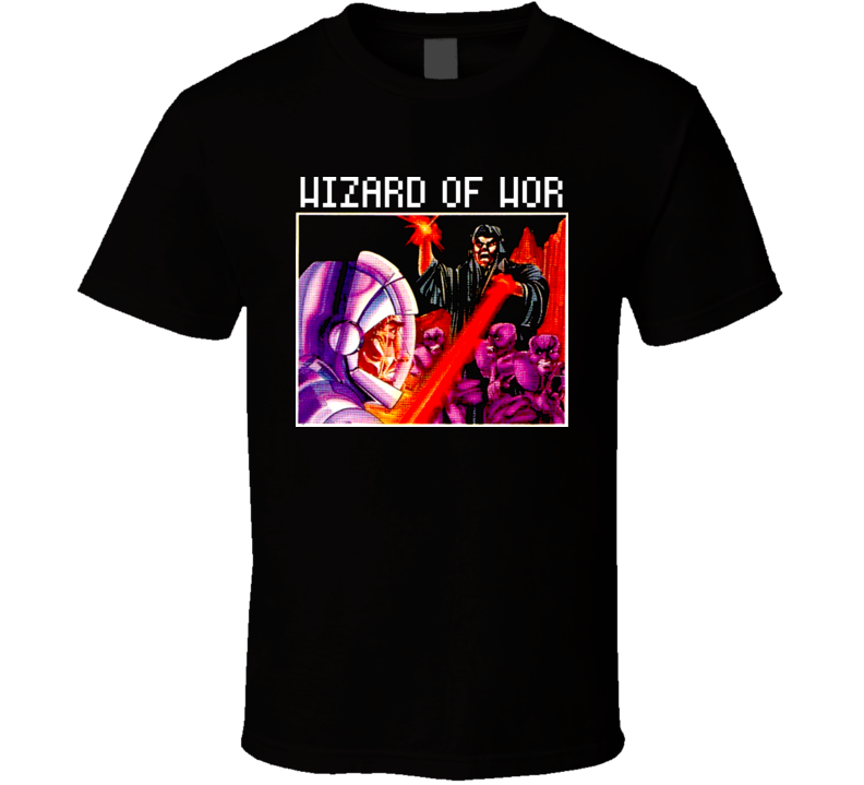 Wizard Of Wor Video Game Retro 80s T Shirt