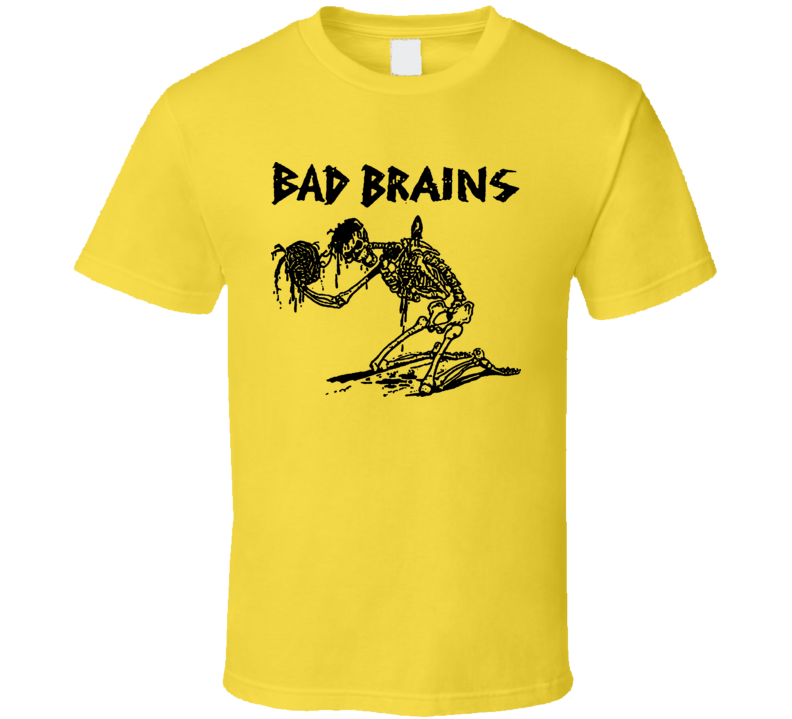 Bad Brains Punk Rock Retro T Shirt