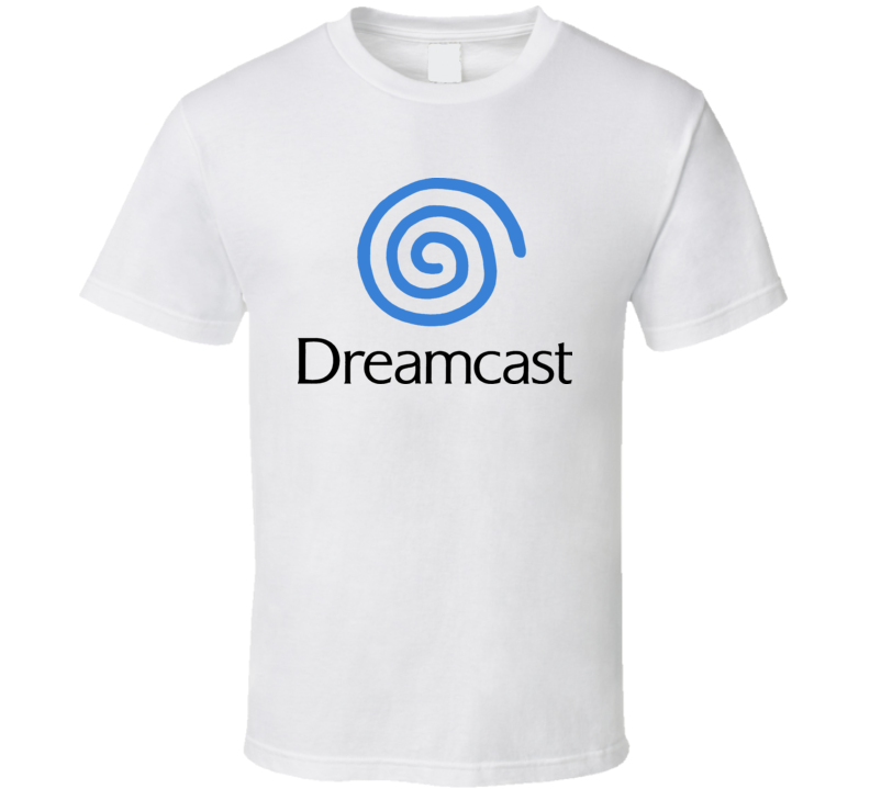 Dreamcast Sega Retro Video Arcade Game T Shirt