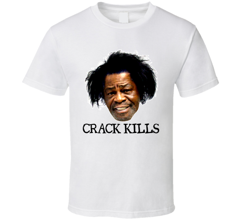 James Brown Crack Kills Funny T Shirt