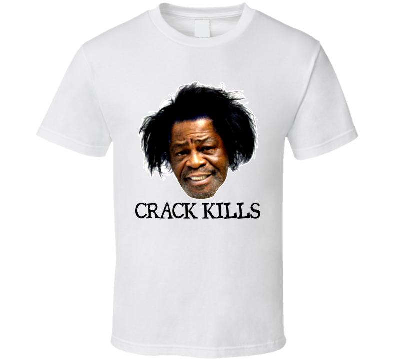 James Brown Crack Kills Funny T Shirt