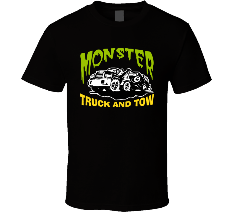 Pulp Fiction Monster Tow Truck T Shirt