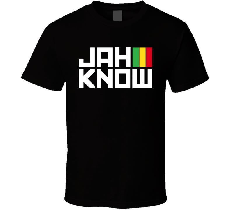 Jah Know Reggae T Shirt