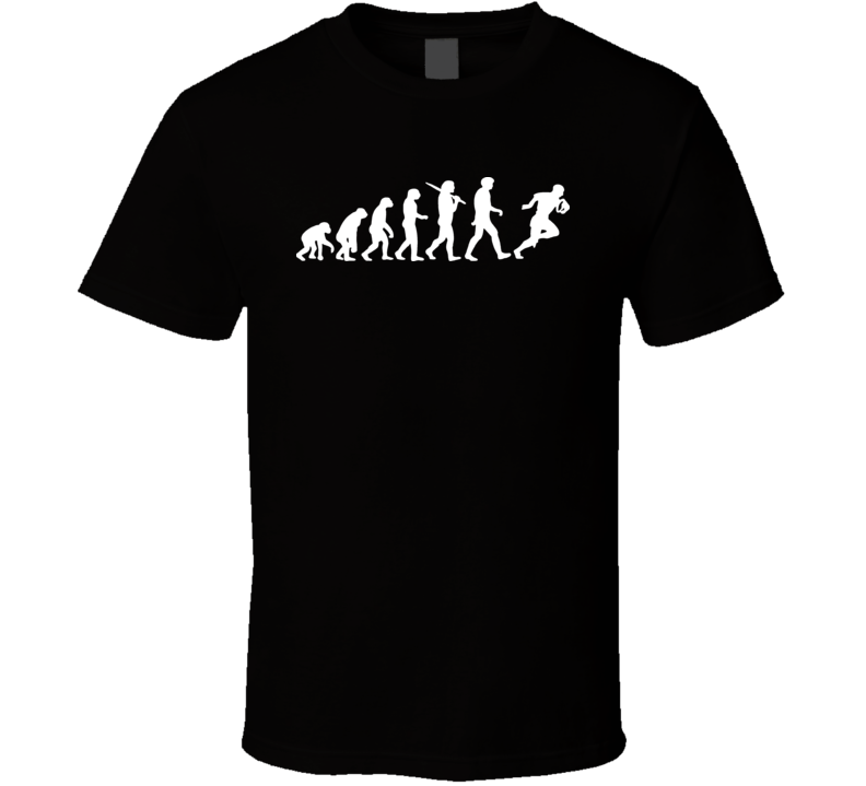 Evolution Of A Rugby Player Sport T Shirt