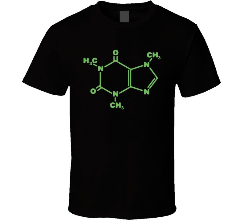 Think Caffeine Big Bang Theory TV T Shirt
