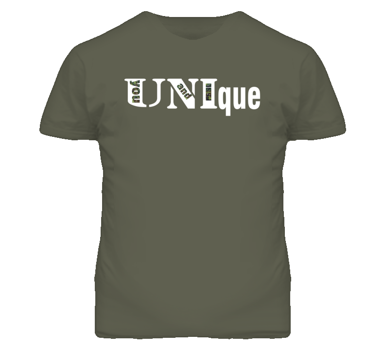 UNIqueWHT Men's Fitted T-Shirt