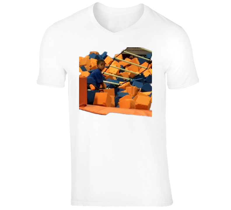 Carson Climbs V-Neck T-Shirt