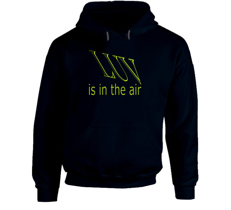 LUV is in the air Hoodie