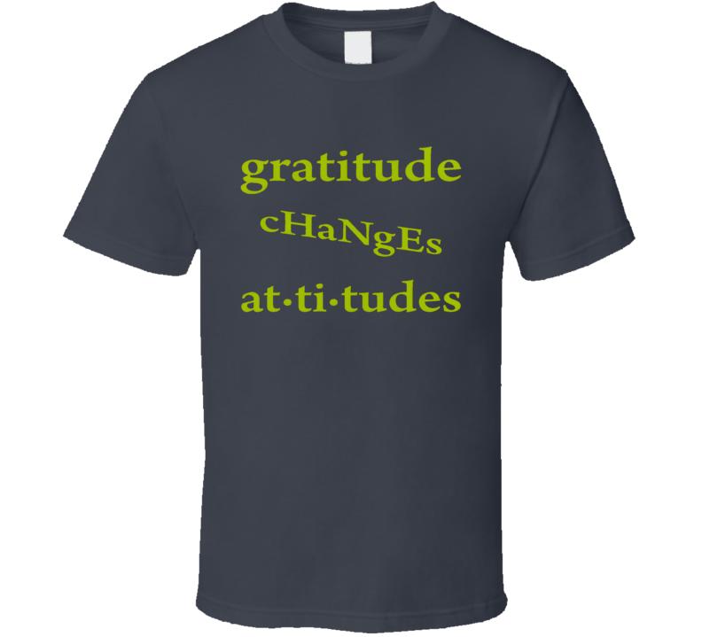Gratitude Standard T-Shirt