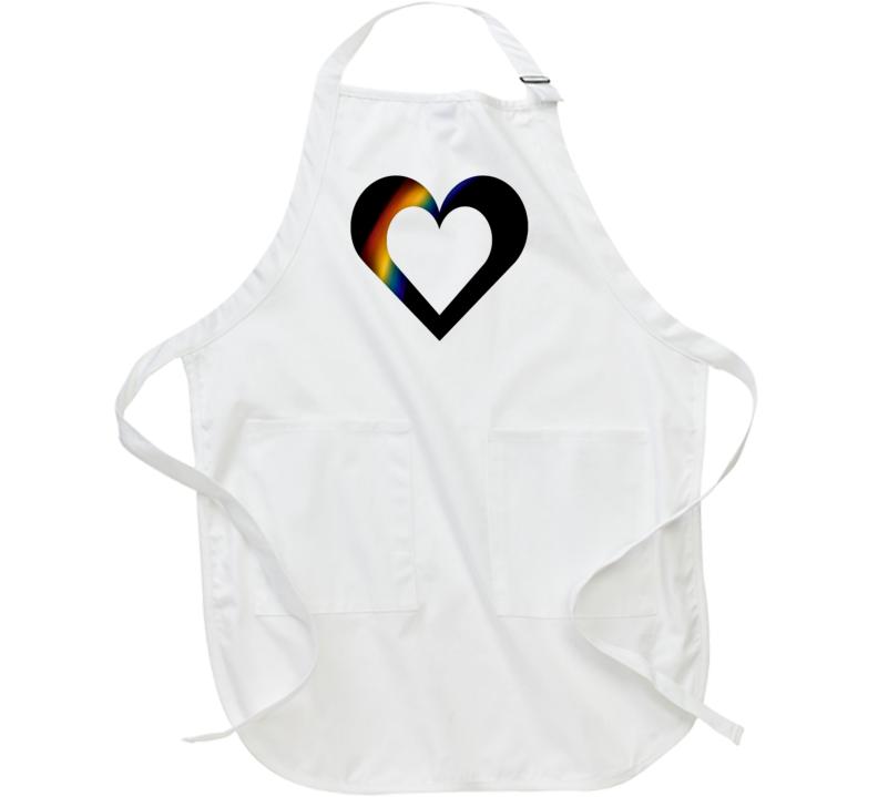 Rainbow Heart Apron