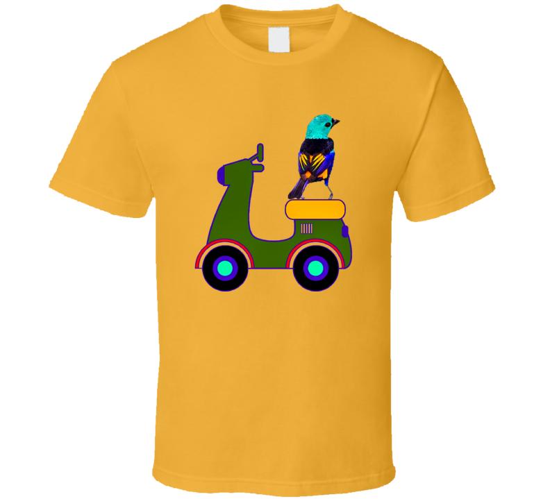 Resting Bird T-Shirt