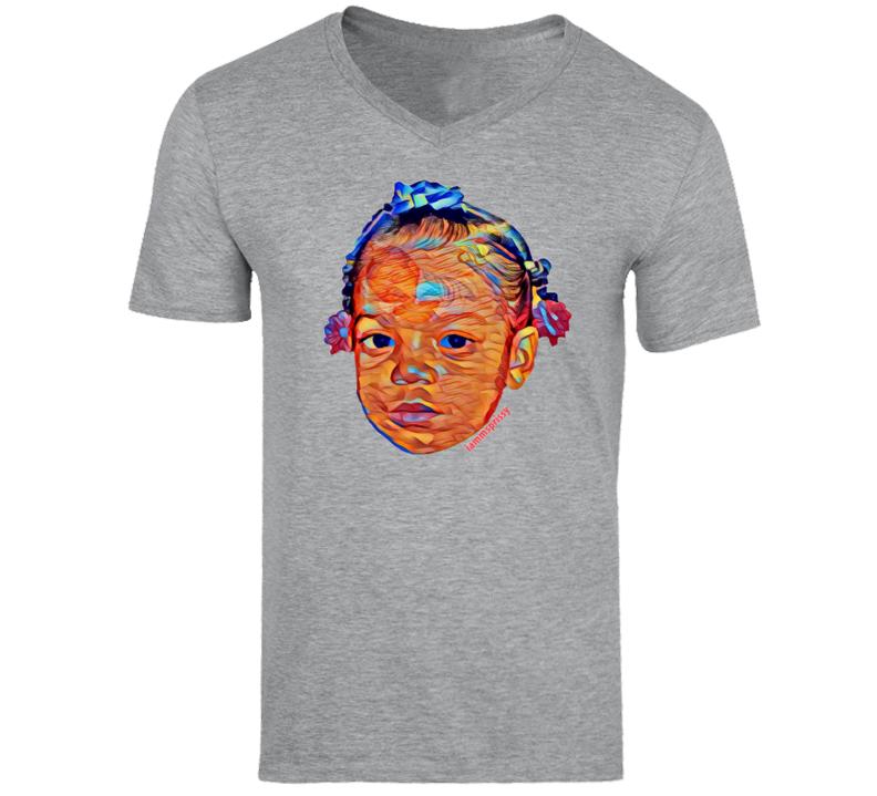 C Babies V-Neck T-Shirt