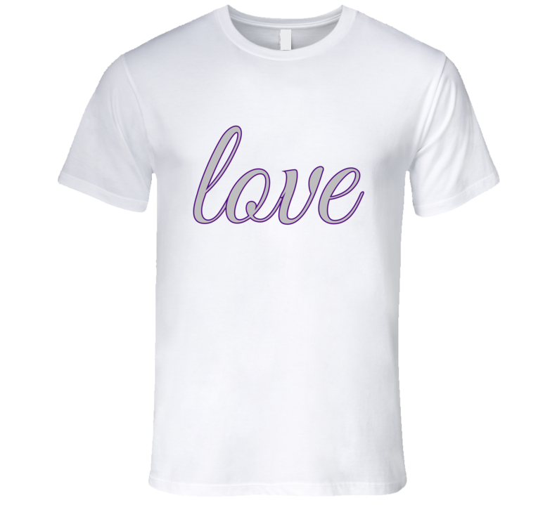 Love Fitted Mens T-Shirt