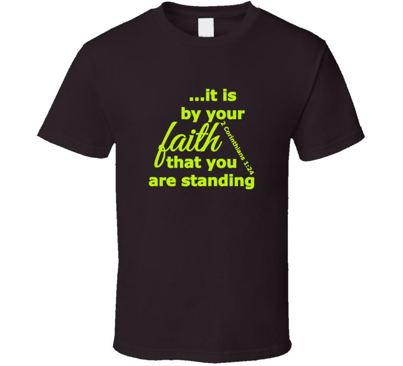 By Faith Standard T-Shirt