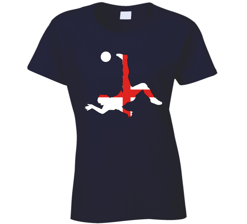 Soccer Game Ladies T Shirt