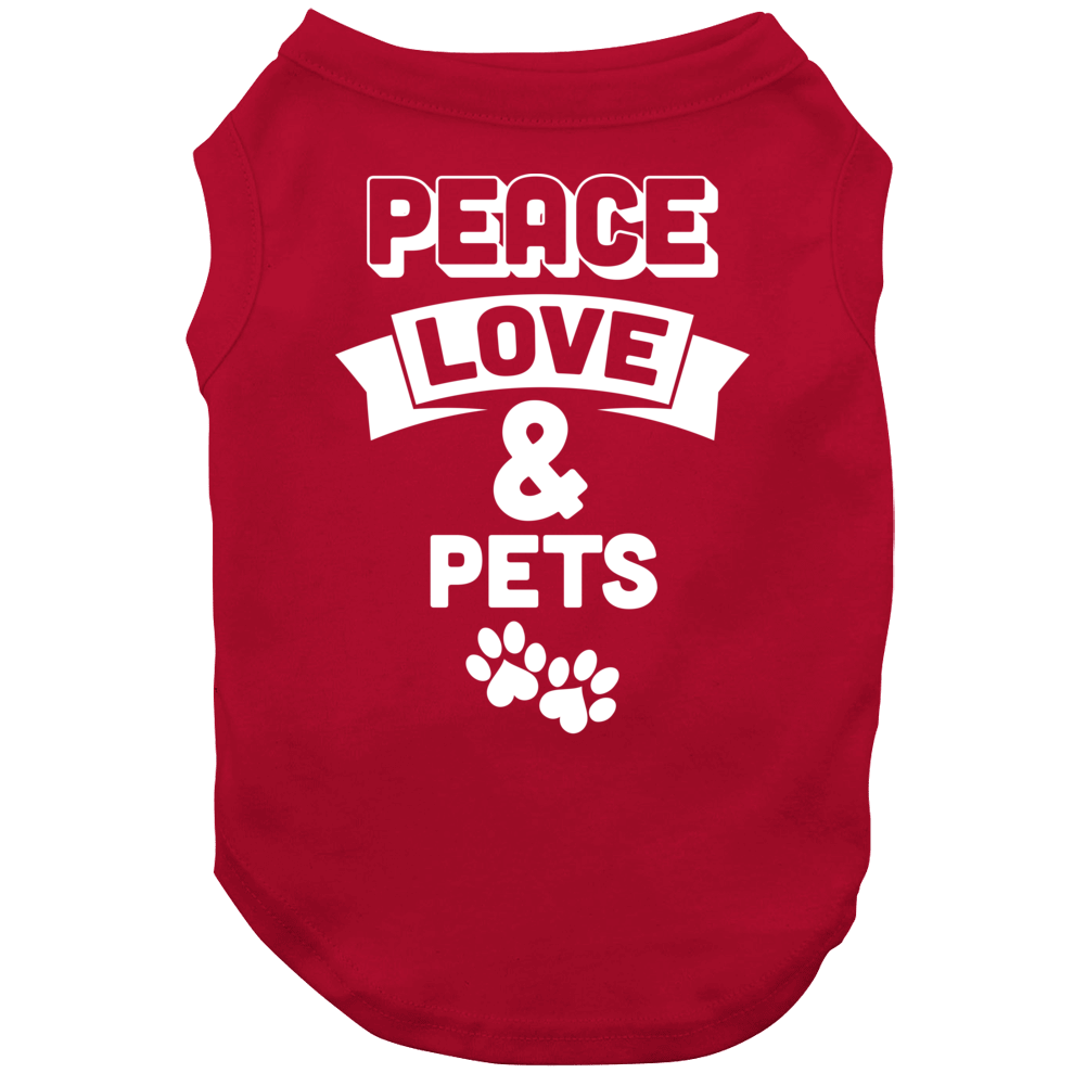 Peace Love & Pets Dog