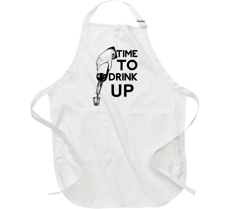 Time To Drink Up Apron